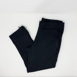 Adidas Black Capri Joggers size small